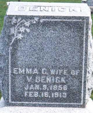 DENICK, EMMA CATHERINE - Jackson County, Iowa | EMMA CATHERINE DENICK