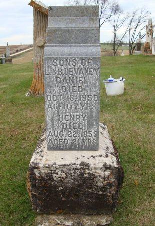 DEVANEY, HENRY - Jackson County, Iowa   HENRY DEVANEY