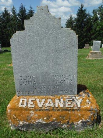 DEVANEY, OLIVE LAURA - Jackson County, Iowa | OLIVE LAURA DEVANEY