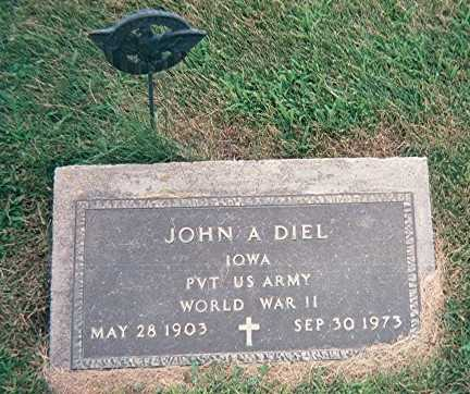 DIEL, JOHN A. - Jackson County, Iowa | JOHN A. DIEL