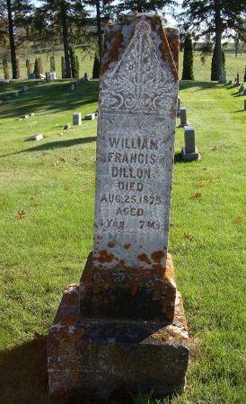 DILLON, WILLIAM FRANCIS - Jackson County, Iowa | WILLIAM FRANCIS DILLON