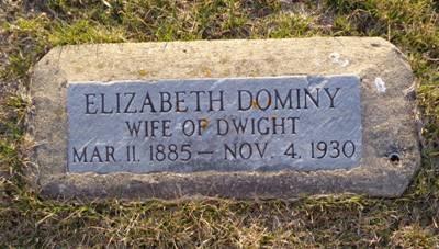 DOMINY, ELIZABETH - Jackson County, Iowa | ELIZABETH DOMINY