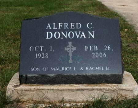 DONOVAN, ALFRED - Jackson County, Iowa   ALFRED DONOVAN