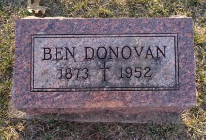 DONOVAN, BEN - Jackson County, Iowa   BEN DONOVAN