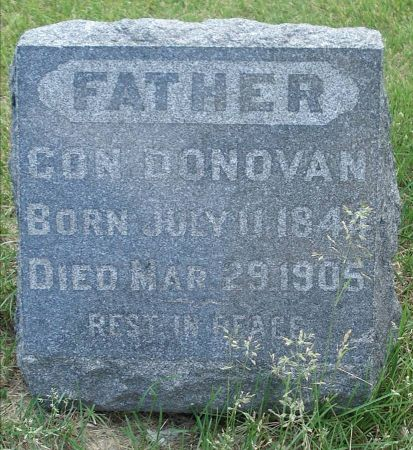 DONOVAN, CON - Jackson County, Iowa   CON DONOVAN