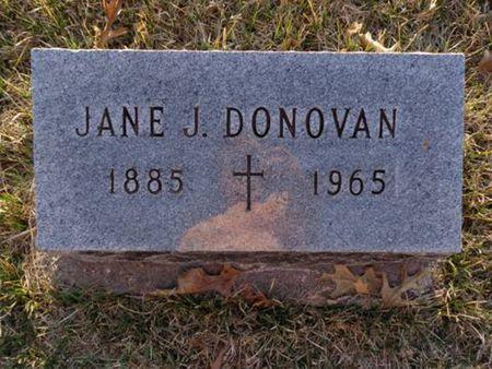 DONOVAN, JANE J. - Jackson County, Iowa | JANE J. DONOVAN