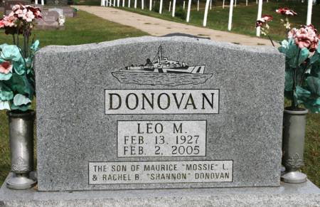 DONOVAN, LEO - Jackson County, Iowa | LEO DONOVAN