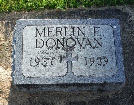 DONOVAN, MERLIN E. - Jackson County, Iowa | MERLIN E. DONOVAN