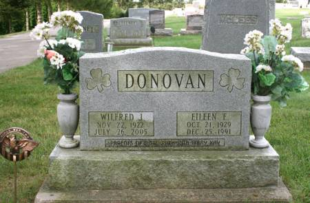 DONOVAN, WILFRED - Jackson County, Iowa | WILFRED DONOVAN