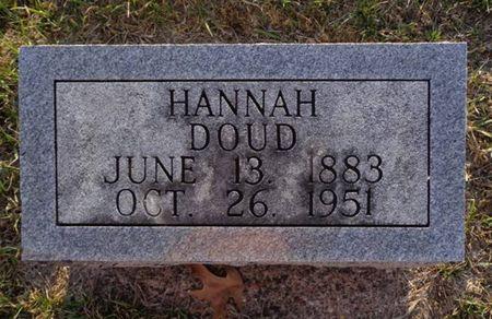 DOUD, HANNAH - Jackson County, Iowa | HANNAH DOUD