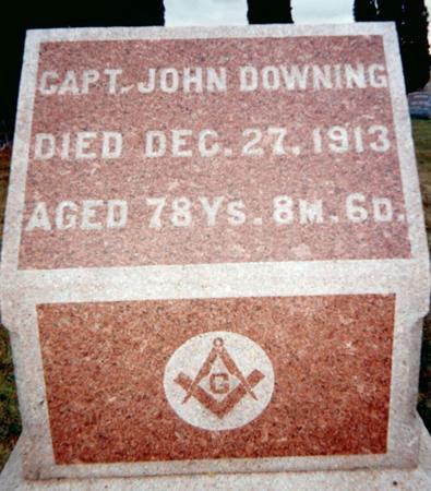 DOWNING, JOHN - Jackson County, Iowa | JOHN DOWNING