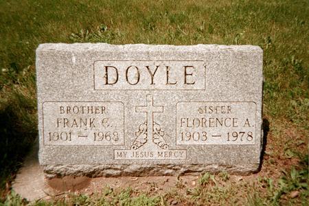 DOYLE, FRANK C. - Jackson County, Iowa   FRANK C. DOYLE
