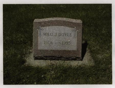 DOYLE, MILO - Jackson County, Iowa | MILO DOYLE