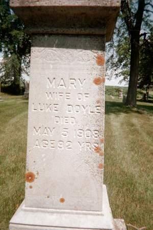 DOYLE, MARY - Jackson County, Iowa | MARY DOYLE