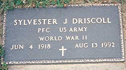 DRISCOLL, SYLVESTER J. - Jackson County, Iowa | SYLVESTER J. DRISCOLL