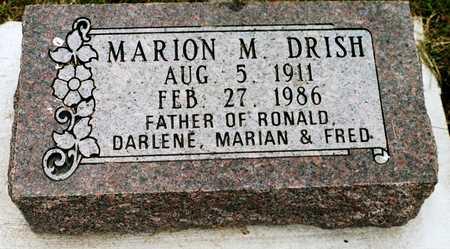 DRISH, MARION M. - Jackson County, Iowa | MARION M. DRISH