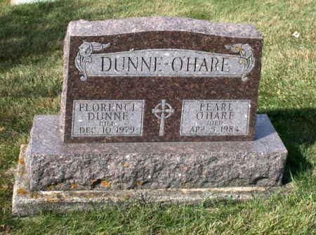 DUNNE O'HARE, PEARL - Jackson County, Iowa | PEARL DUNNE O'HARE