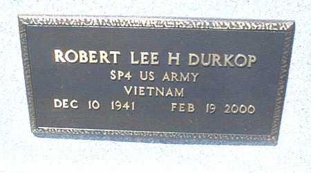 DURKOP, ROBERT LEE H. - Jackson County, Iowa | ROBERT LEE H. DURKOP