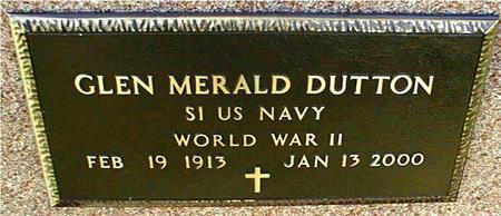 DUTTON, GLEN MERALD - Jackson County, Iowa | GLEN MERALD DUTTON