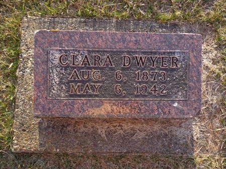 DWYER, CLARA - Jackson County, Iowa | CLARA DWYER