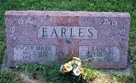 EARLES, INGER MARIE - Jackson County, Iowa | INGER MARIE EARLES