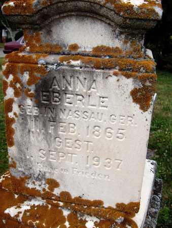 EBERLE, ANNA - Jackson County, Iowa   ANNA EBERLE