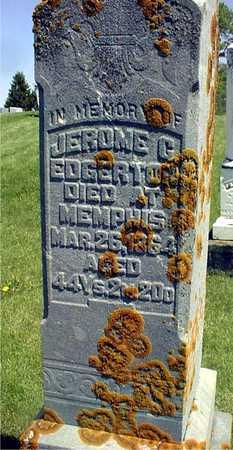 EDGERTON, JEROME C. - Jackson County, Iowa | JEROME C. EDGERTON
