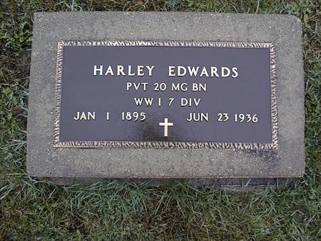 EDWARDS, HARLEY - Jackson County, Iowa   HARLEY EDWARDS