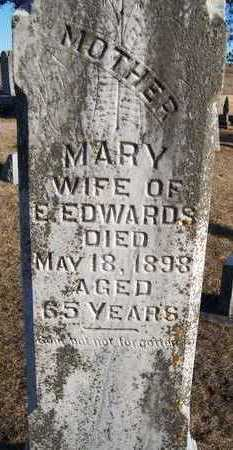 EDWARDS, MARY - Jackson County, Iowa | MARY EDWARDS