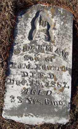 EDWARDS, SHERMAN - Jackson County, Iowa   SHERMAN EDWARDS