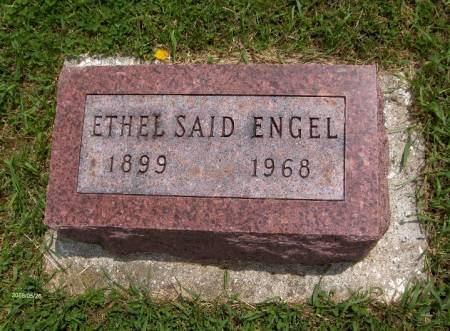 ENGEL, ETHEL - Jackson County, Iowa | ETHEL ENGEL