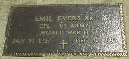 EVERS, EMIL, JR. - Jackson County, Iowa | EMIL, JR. EVERS