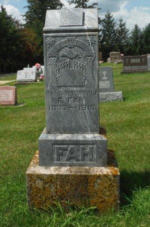 FAH, MARGARET - Jackson County, Iowa | MARGARET FAH