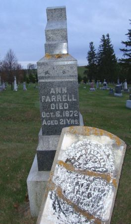 FARRELL, ANN - Jackson County, Iowa | ANN FARRELL