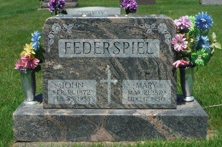 FEDERSPIEL, MARY - Jackson County, Iowa | MARY FEDERSPIEL