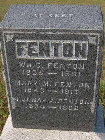 FENTON, HANNAH A. - Jackson County, Iowa | HANNAH A. FENTON
