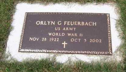 FEUERBACH, ORLYN G. - Jackson County, Iowa | ORLYN G. FEUERBACH