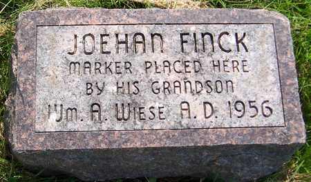 FINCK, JOEHAN - Jackson County, Iowa | JOEHAN FINCK