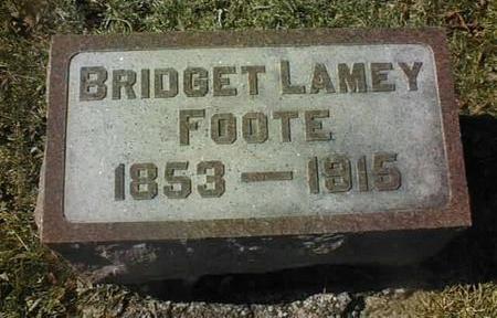 LAMEY FOOTE, BRIDGET - Jackson County, Iowa | BRIDGET LAMEY FOOTE