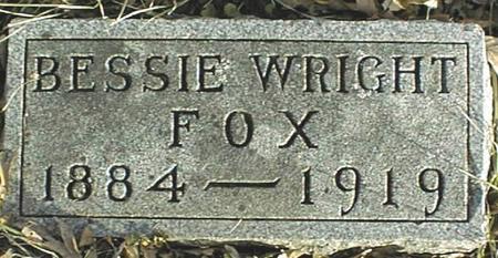 FOX, BESSIE - Jackson County, Iowa   BESSIE FOX