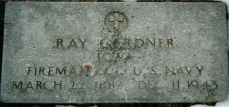 GARDNER, RAY - Jackson County, Iowa   RAY GARDNER