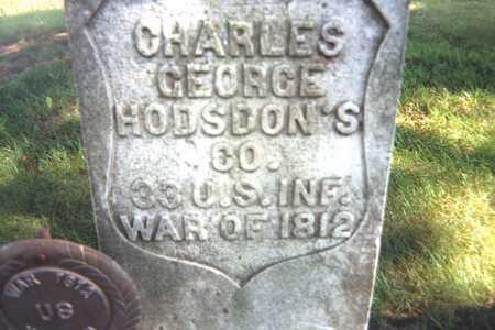 GEORGE, CHARLES - Jackson County, Iowa   CHARLES GEORGE