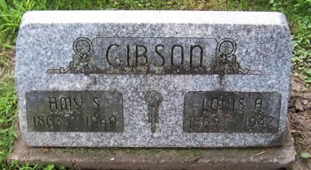 GIBSON, LOUIS A. - Jackson County, Iowa   LOUIS A. GIBSON