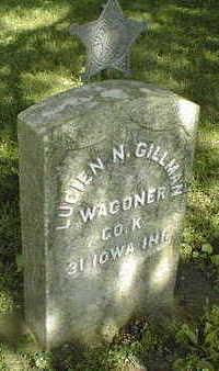 GILLMAN, LUCIEN N. - Jackson County, Iowa   LUCIEN N. GILLMAN