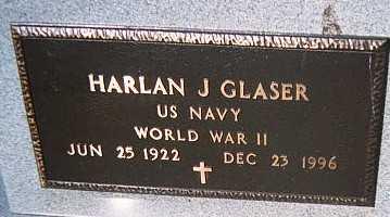 GLASER, HARLAN J. - Jackson County, Iowa | HARLAN J. GLASER