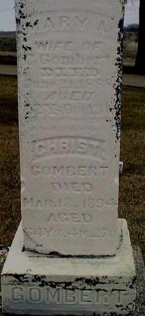 GOMBERT, MARY - Jackson County, Iowa | MARY GOMBERT