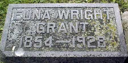 WRIGHT GRANT, EUNA - Jackson County, Iowa | EUNA WRIGHT GRANT