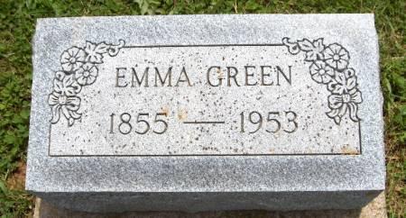 GREEN, EMMA - Jackson County, Iowa | EMMA GREEN