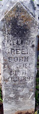 GREEN, WILLIAM - Jackson County, Iowa   WILLIAM GREEN