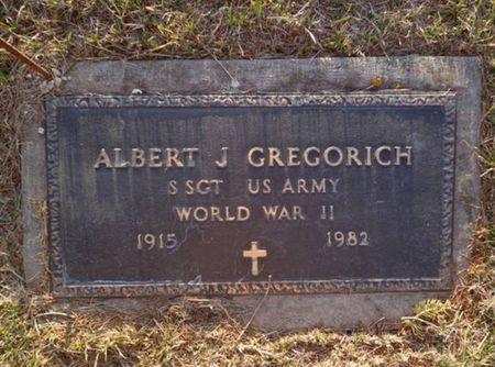 GREGORICH, ALBERT J. - Jackson County, Iowa | ALBERT J. GREGORICH